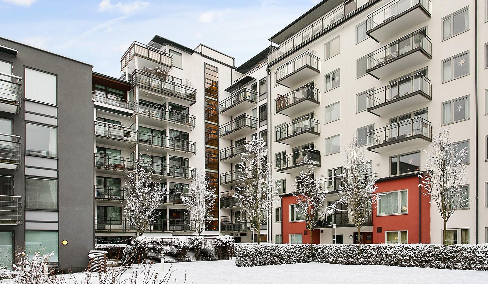 Konvojgatan 1, vån 6 - Fasadbild