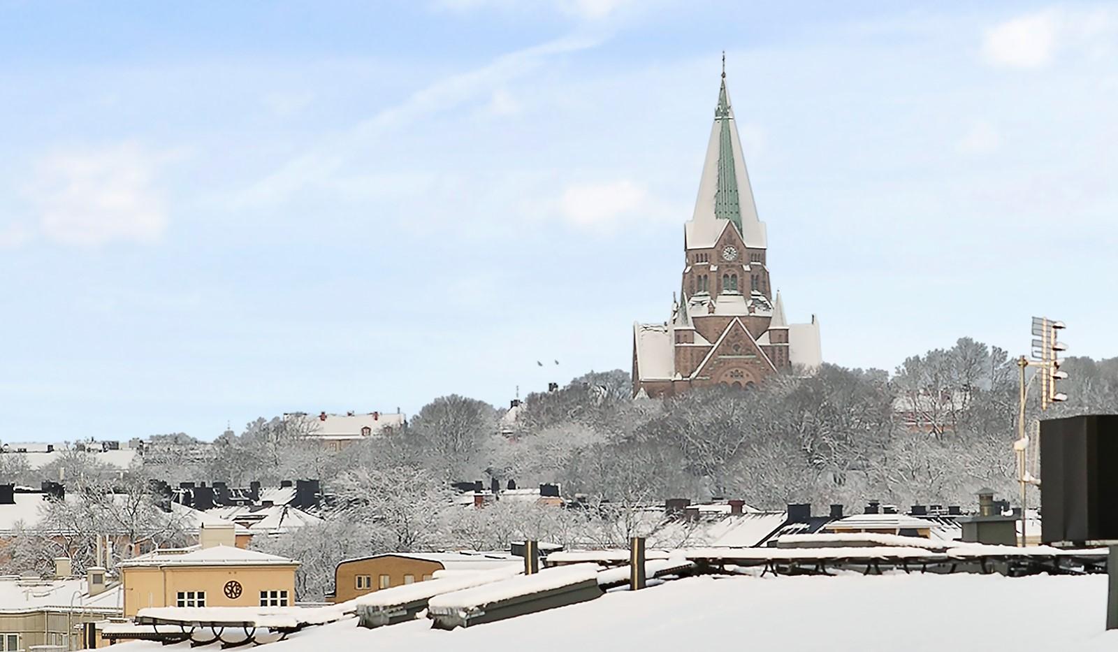 Konvojgatan 1, vån 6 - Fantastisk utsikt mot Sofia Kyrka