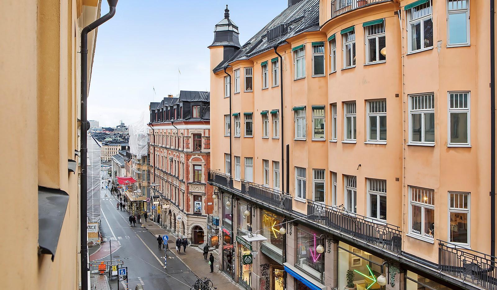 Götgatan 26 - Utsikt från lägenheten