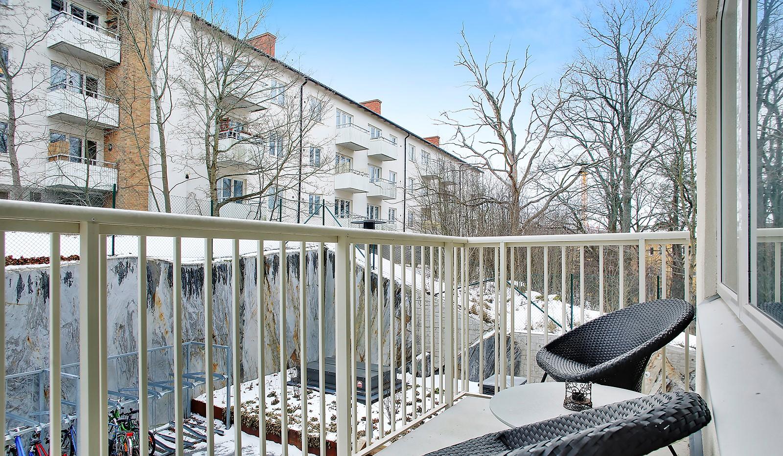 Adventsvägen 3 - Solig balkong