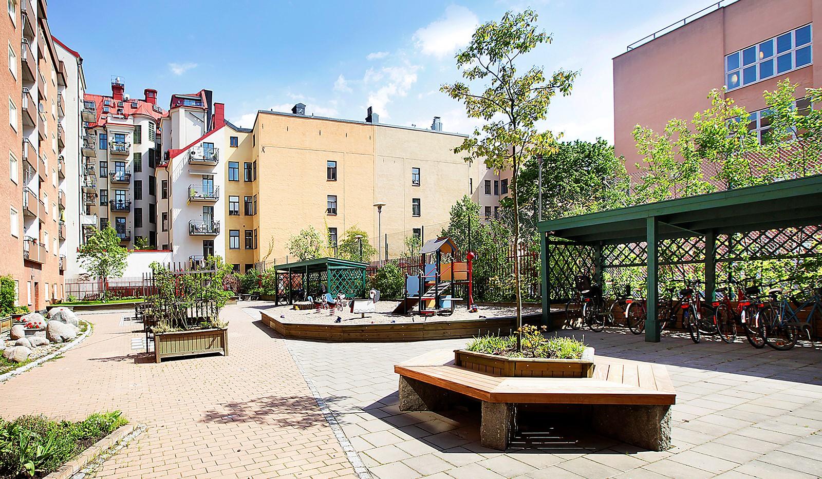 Hornsgatan 35 - Snart är sommaren här