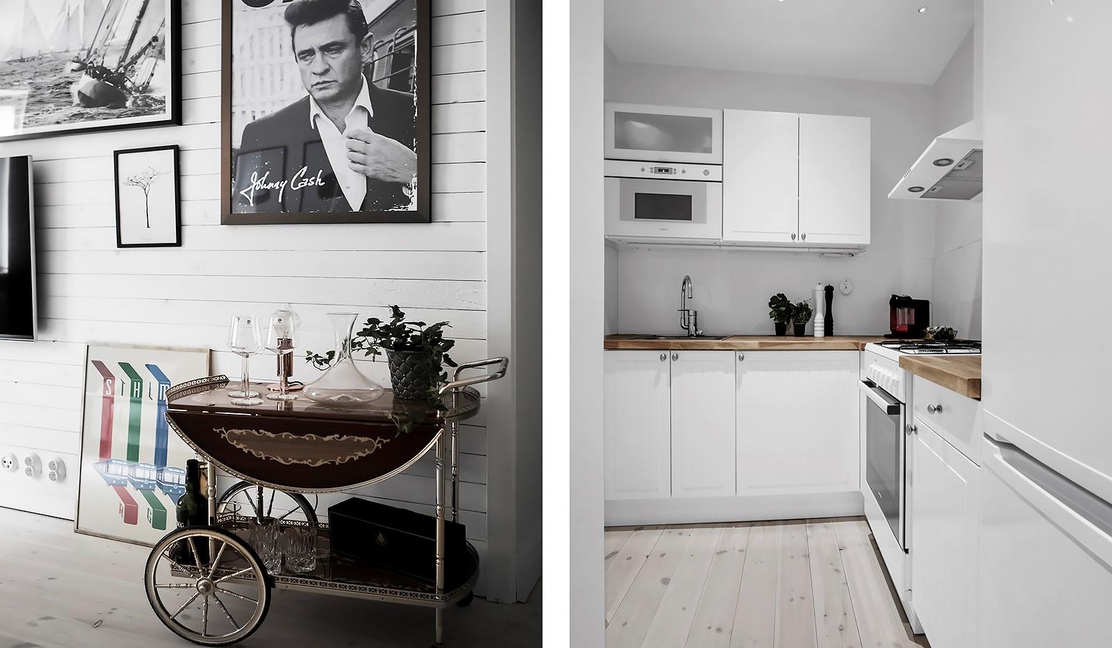 Kocksgatan 40 - Kök med gott av förvaring
