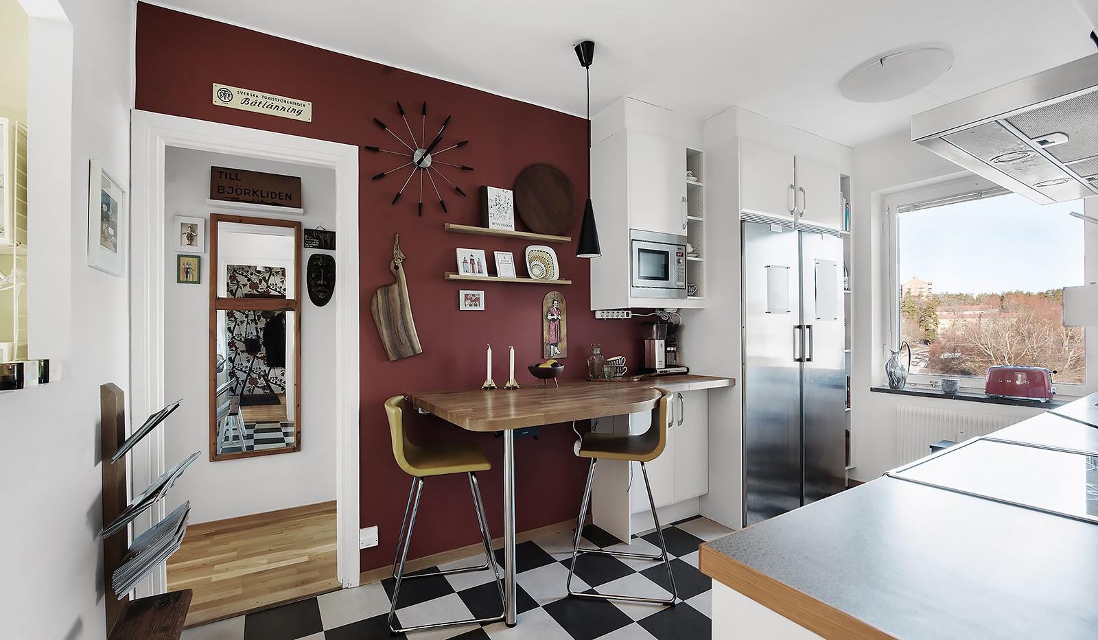 Arkövägen 27 - Smart kök med vackert ljusinsläpp
