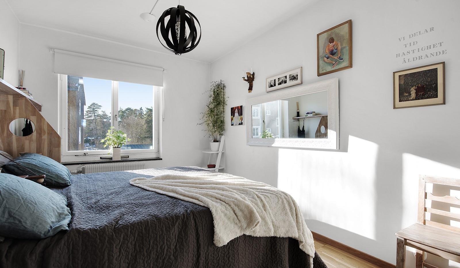 Arkövägen 27 - Rofyllt sovrum