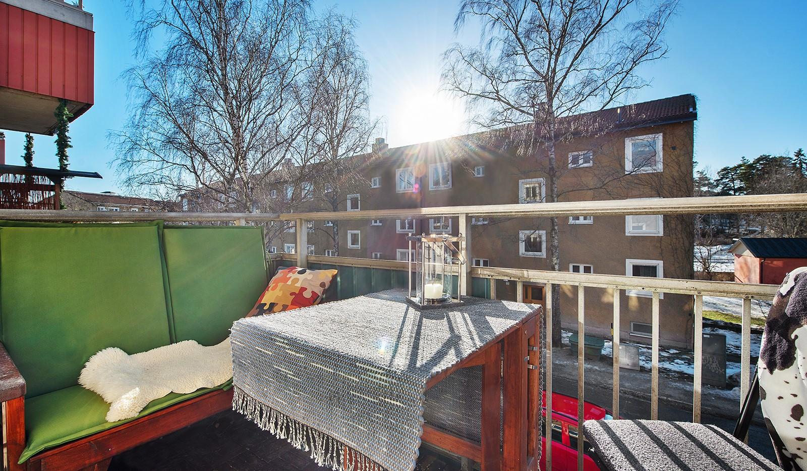 Arkövägen 27 - Härligt soldränkt balkong