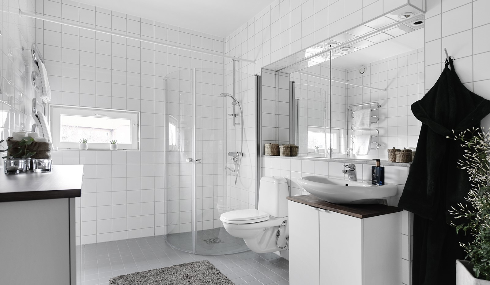 Liljeholmstorget 18, 3 tr - Stilrent badrum