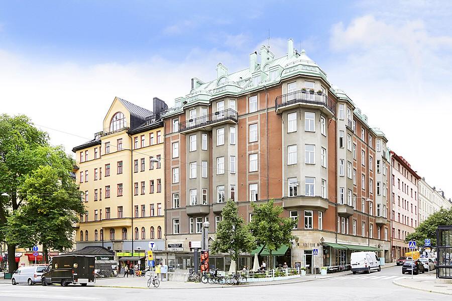 Hornsgatan 89, 2tr ÖG - Nära Zinkensdamms t-bana och mysiga Pane Vino