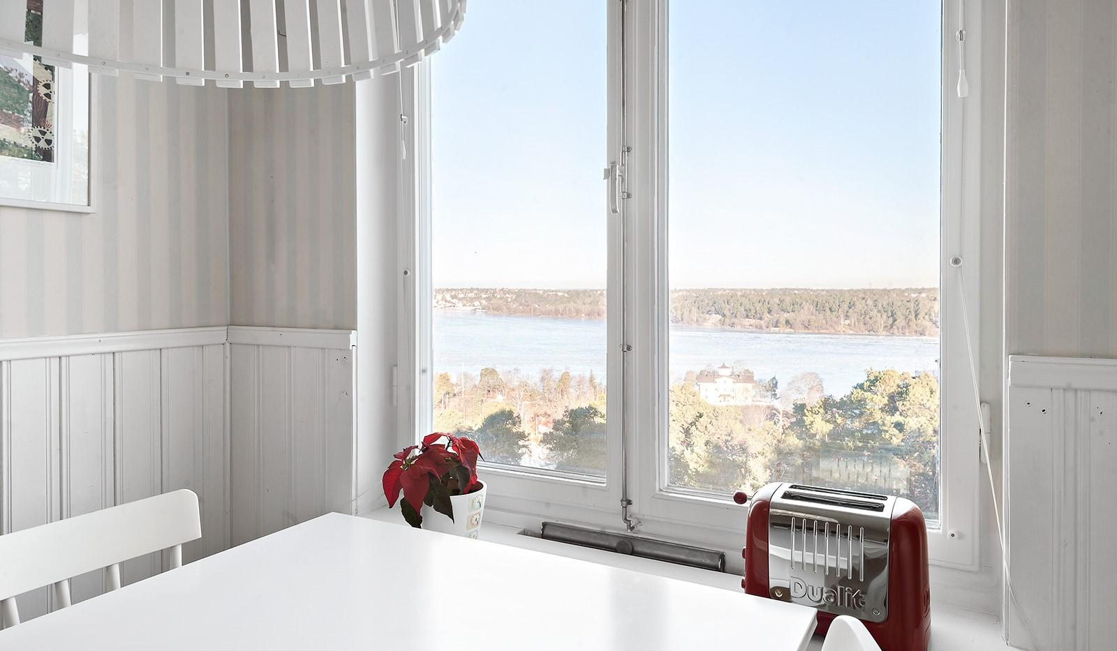Klubbacken 39, 3 tr - Utsikt från matplats