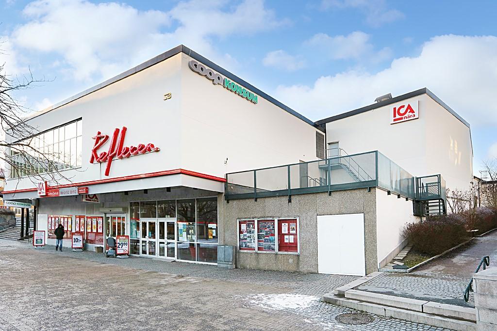 Arkövägen 27 - Kärrtorp Centrum med Bio/teater