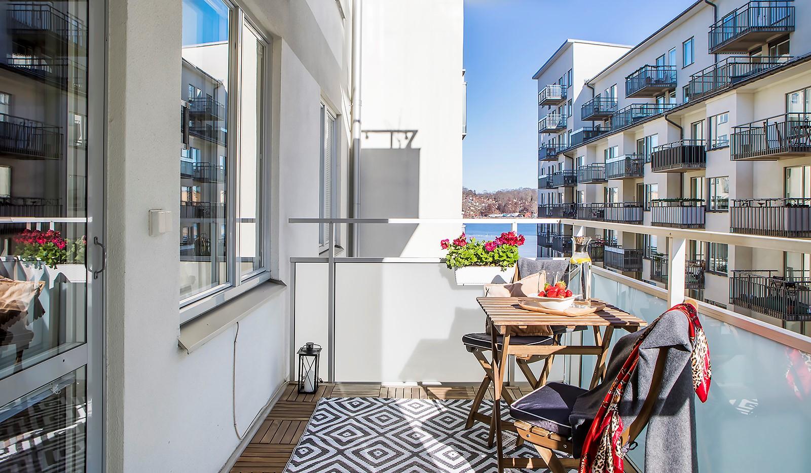 Vingårdsgatan 8, 3tr - Lätt att möblera på balkongen