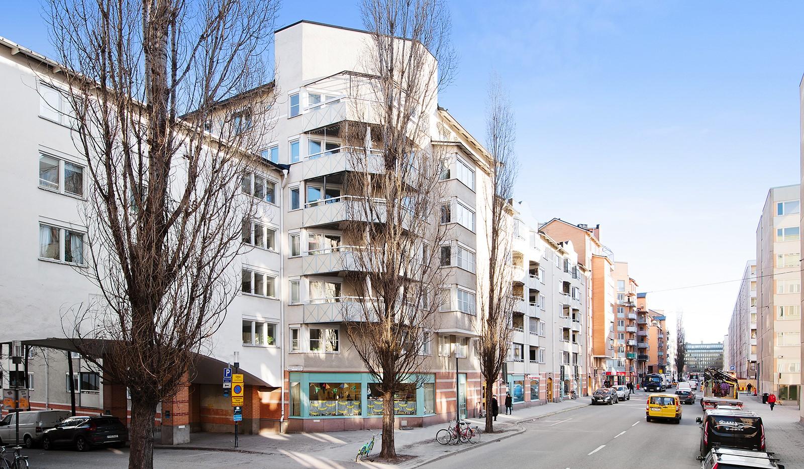 Magnus Ladulåsgatan 49, 4 tr - Fasad
