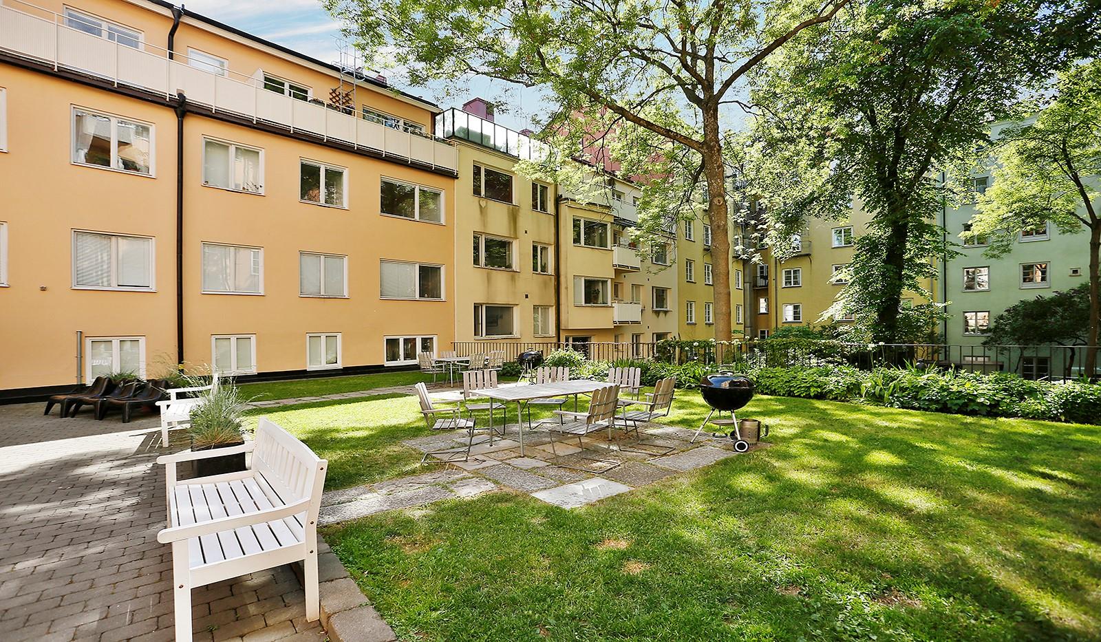 Folkungagatan 114 - Härlig innergård