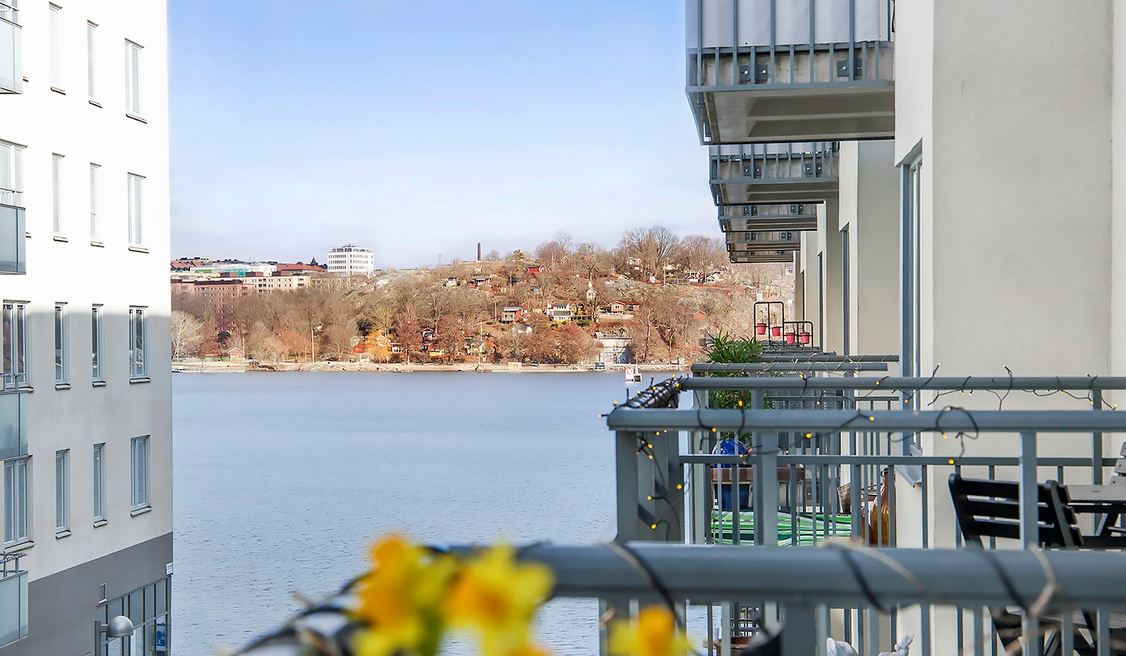 Vingårdsgatan 5, 3 tr - Härlig utsikt över Mälaren och bort mot Södermalm