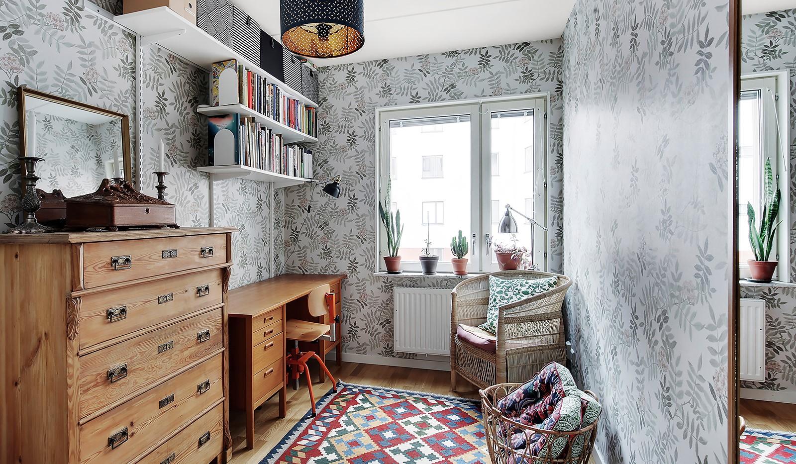 Vingårdsgatan 5, 3 tr - Mindre rum som fungerar perfekt som både barnrum, kontorsrum eller gästrum