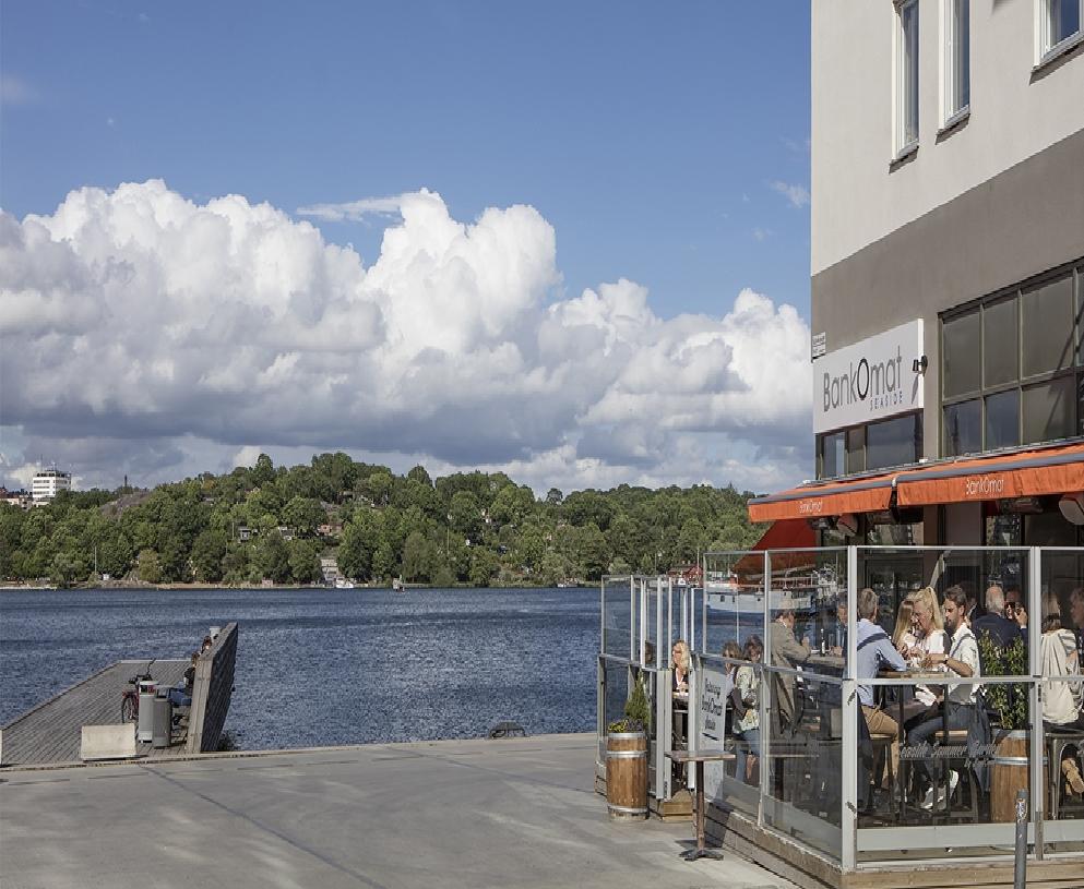 Vingårdsgatan 5, 3 tr - Restaurang på Sjövikstorget