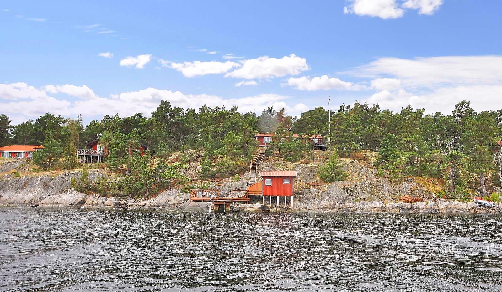 Smådalarö/ Kalvholmen/Gränö - Eget vatten