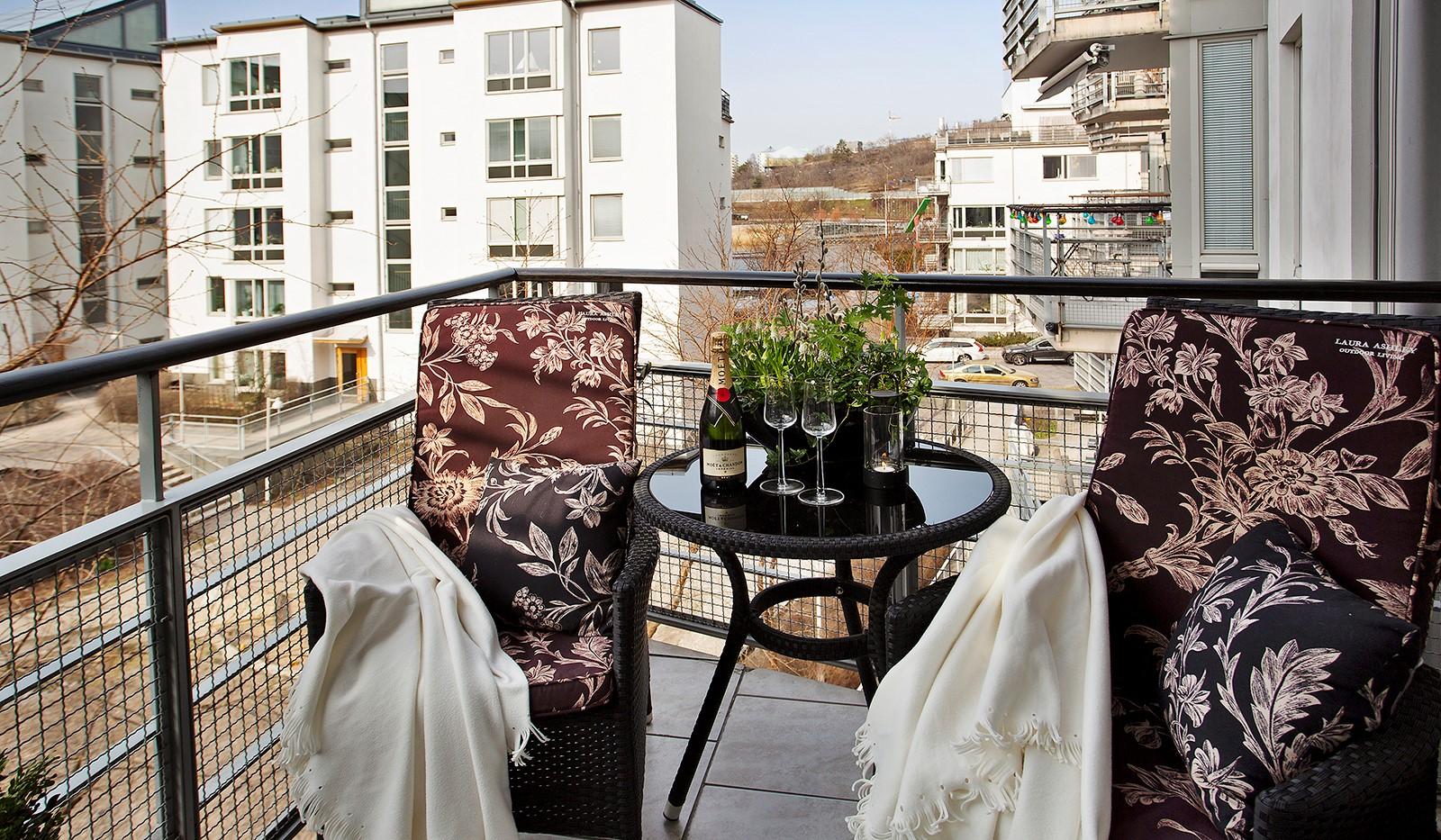 Lugnets Allé 69, 2 tr - Trevlig balkong i soligt västerläge
