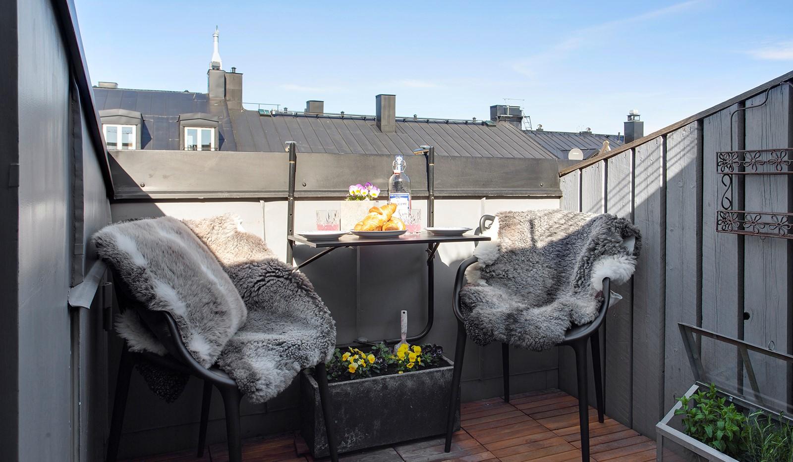 Maria Prästgårdsgata 19, 5 tr - Härlig solig terrass, med mer sol ju längre dagen gryr