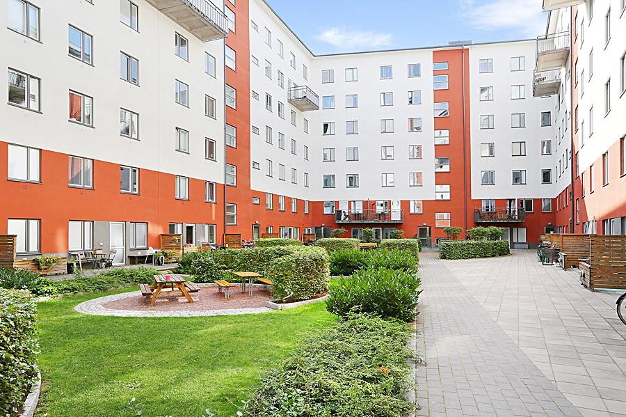 Vingårdsgatan 7, 6/7 tr - Innergård