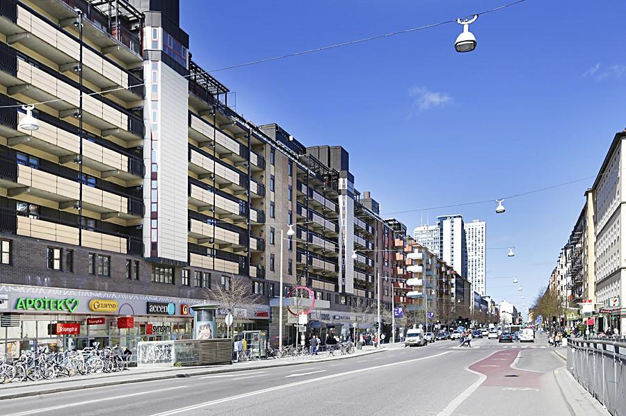 Ringvägen 87A - Ringens köpcentrum, Götgatan.