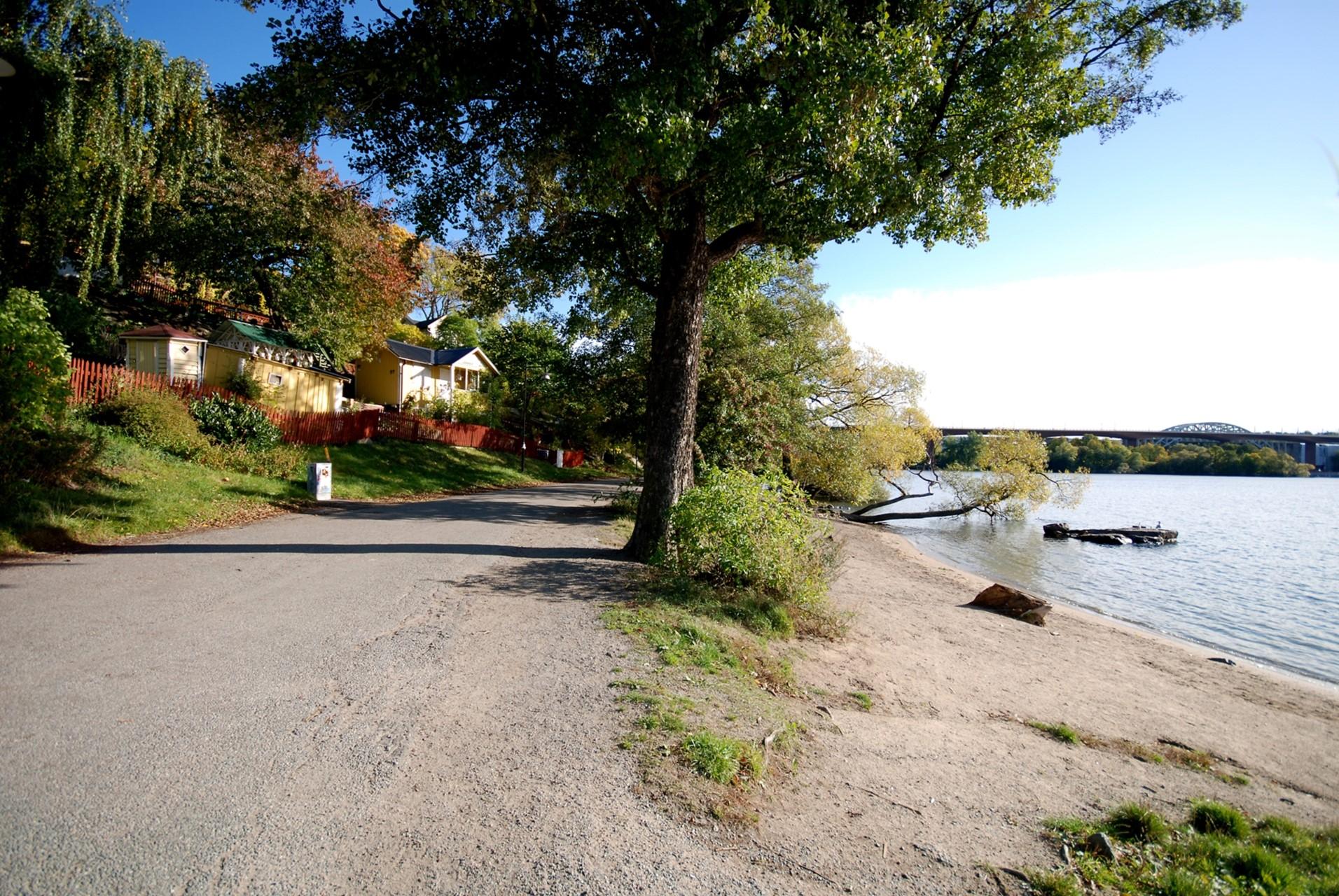 Ringvägen 87A - Vackra promenadstråk längs Årstaviken.