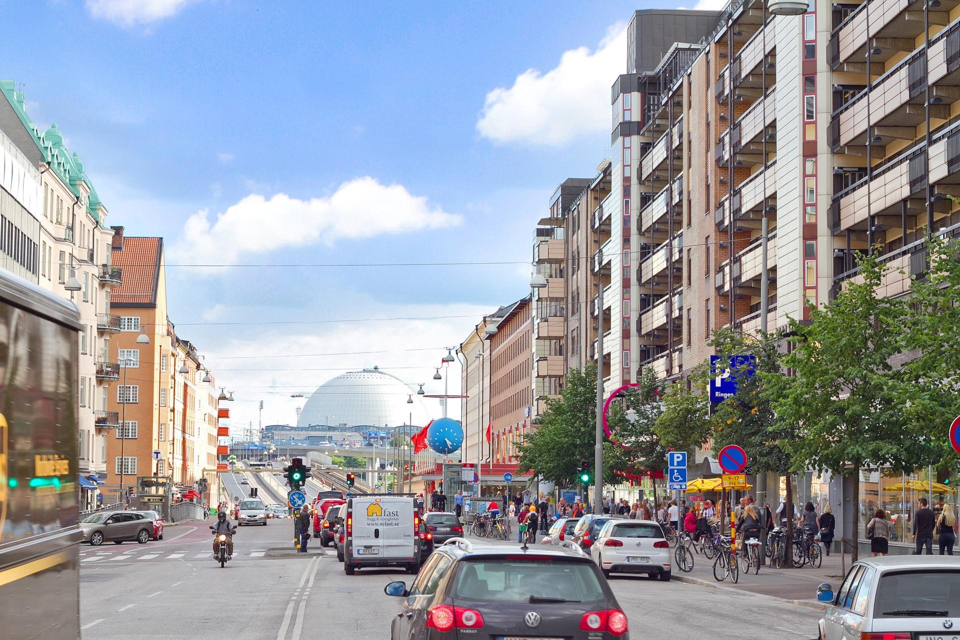 Åsögatan 106 - Götgatan söderut