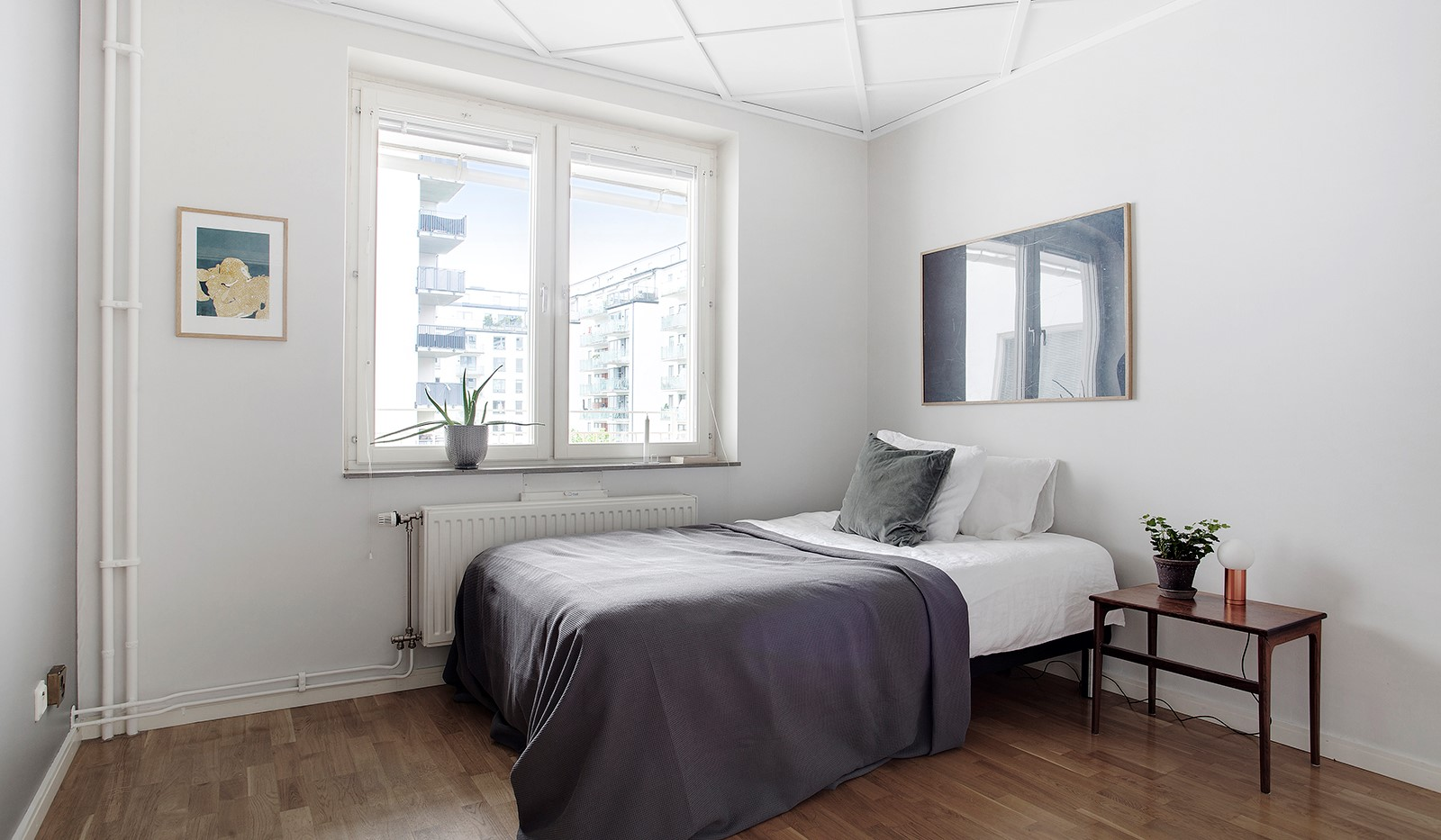 Åsögatan 106 - Sovrum 3 - med gårdsläge.