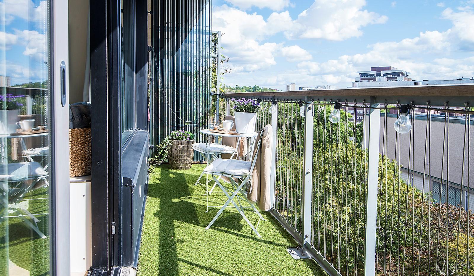 Liljeholmsvägen 12, 6tr - Härlig balkong i bästa solläge