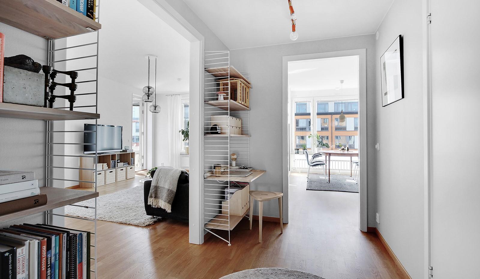 Hammarby Allé 119, 5 tr - Välkommen hem till ett hav av ljus