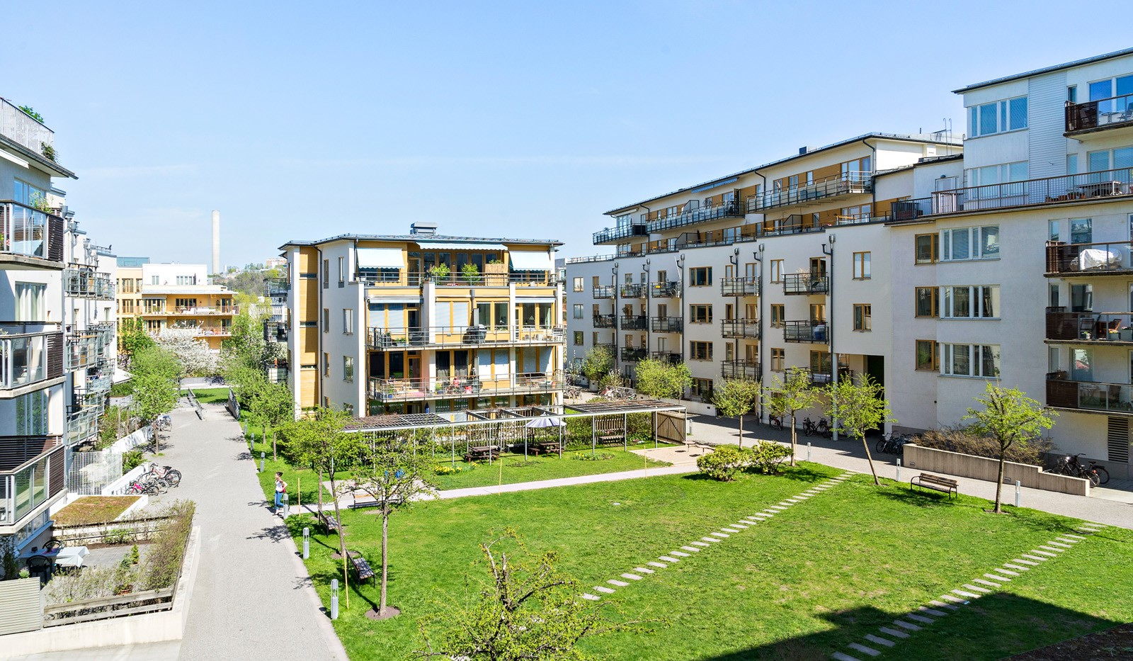 Hammarby Allé 119, 5 tr - Föreningens innergård