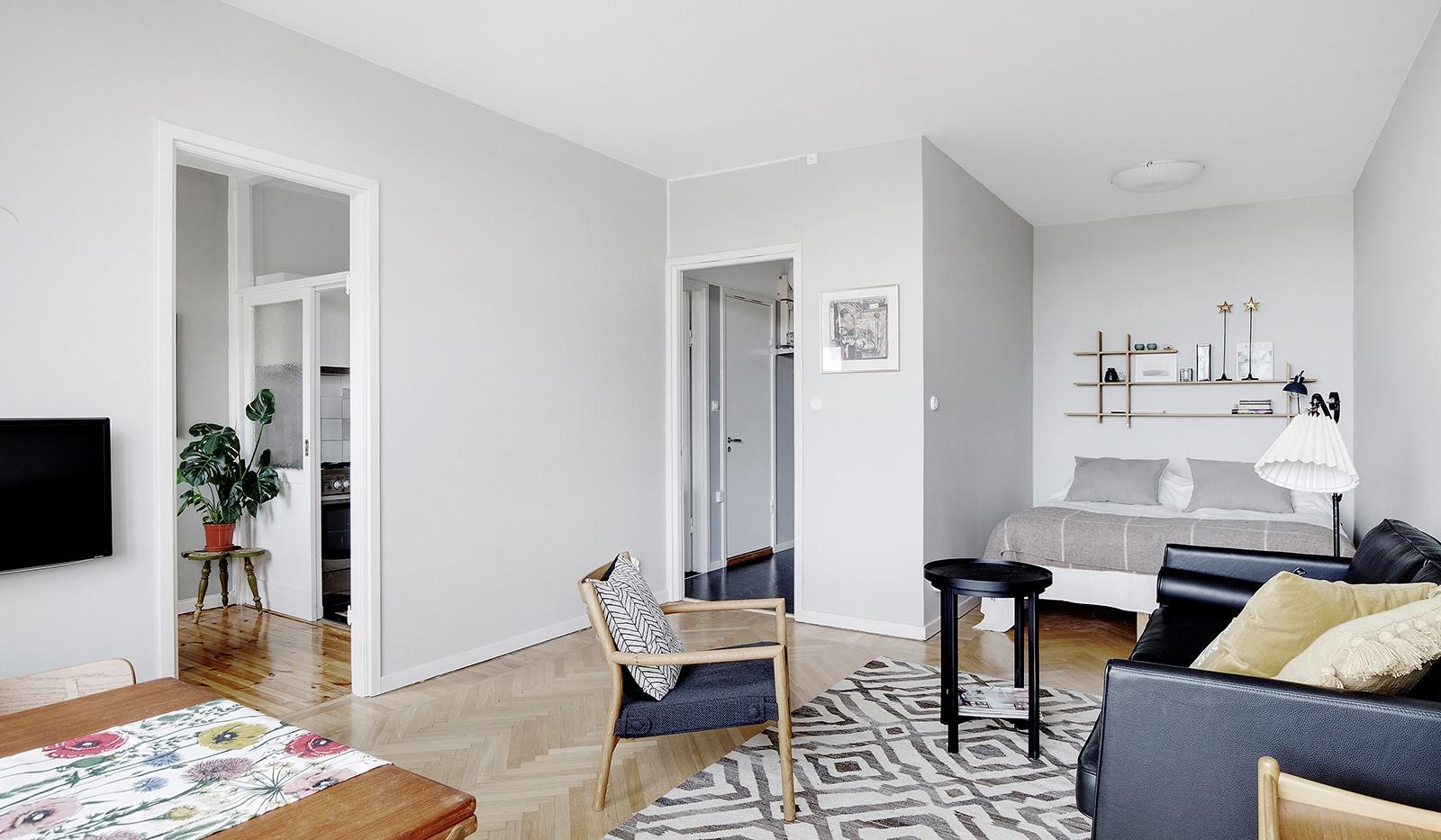 Heleneborgsgatan 20 - Välplanerad lägenhet där varje kvadratmeter utnyttjas på bästa sätt.