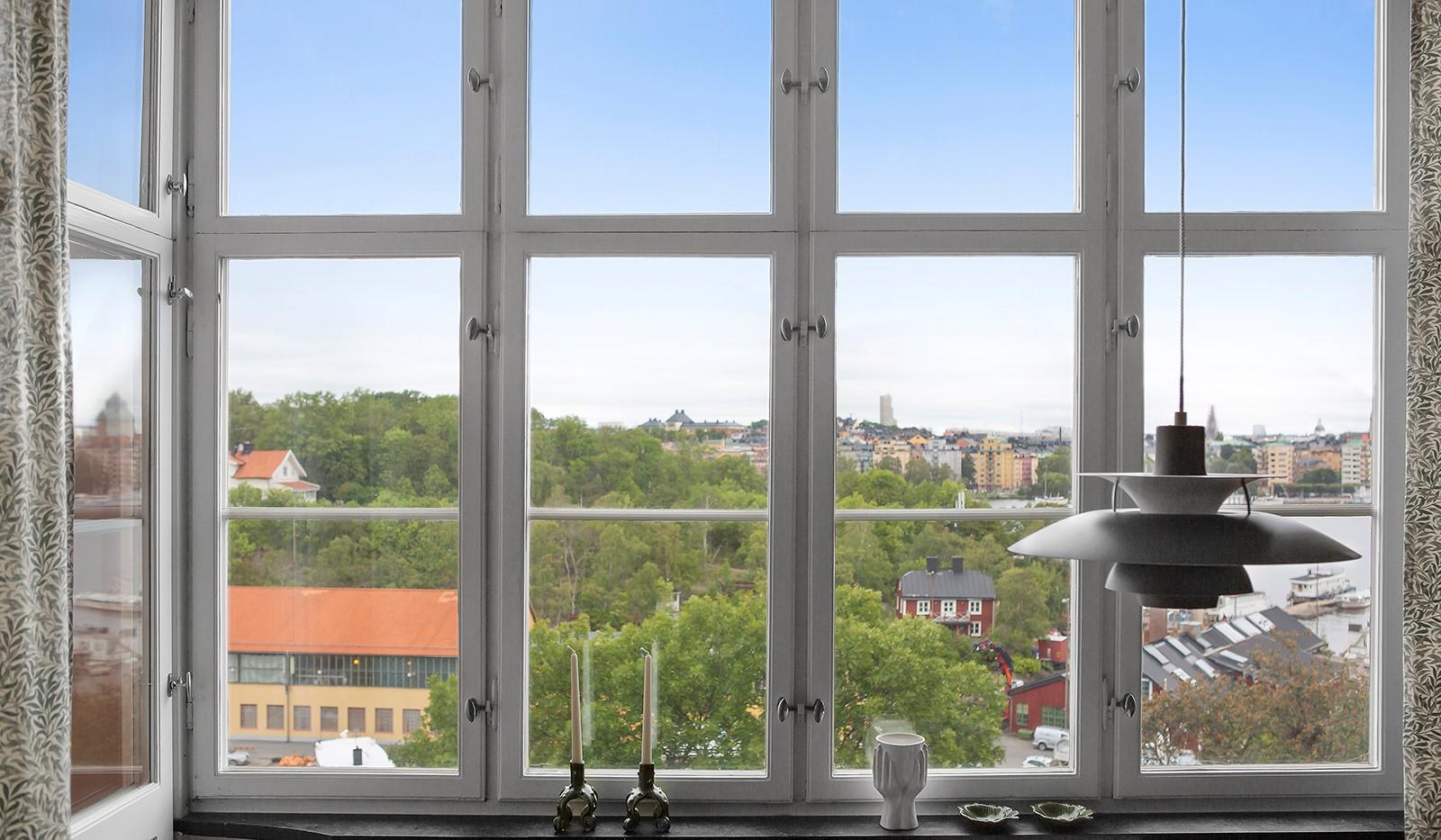 Heleneborgsgatan 20 - Stort fönsterparti med fint ljusinsläpp