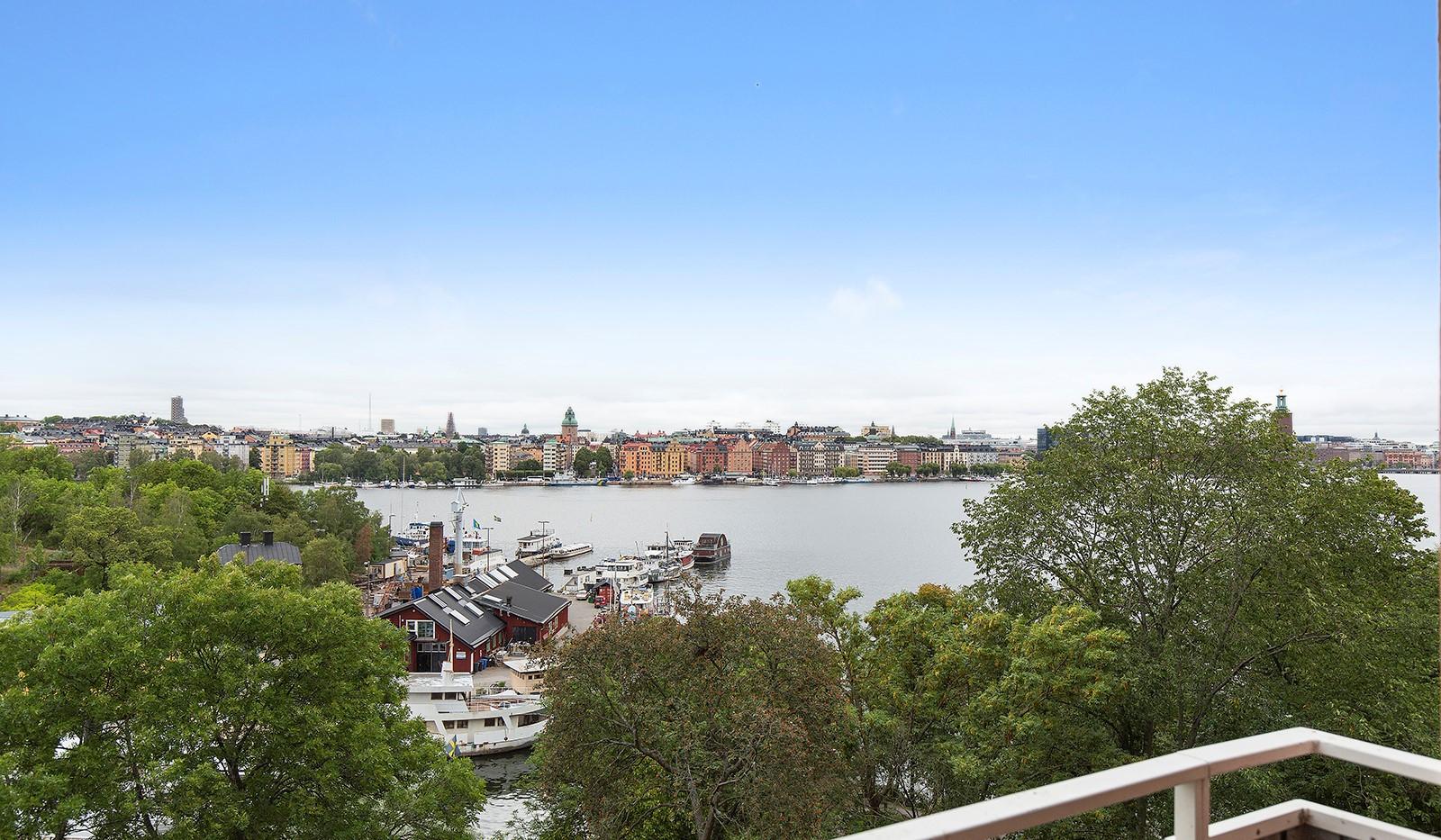 Heleneborgsgatan 20 - Utsikten!