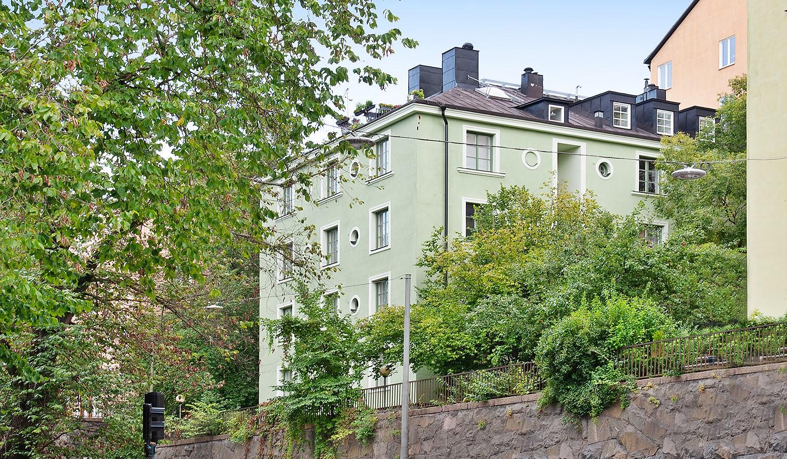 Högalidsgatan 31, 3 tr - Fasad Högalidsgatan 31