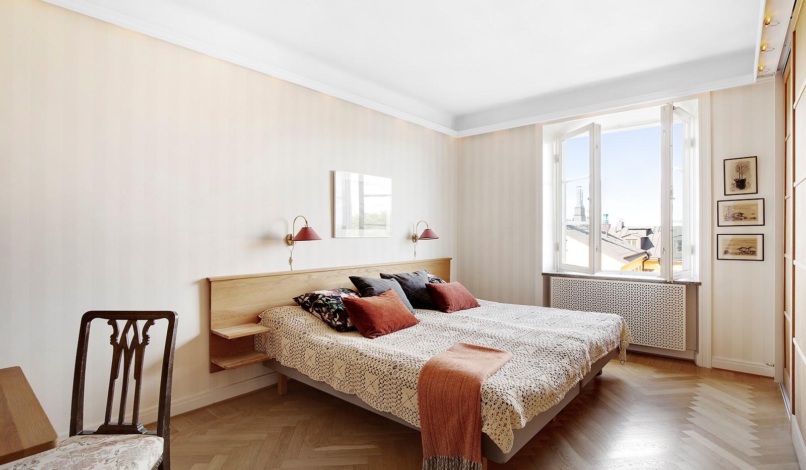 Bastugatan 19, 4 tr - Stort sovrum