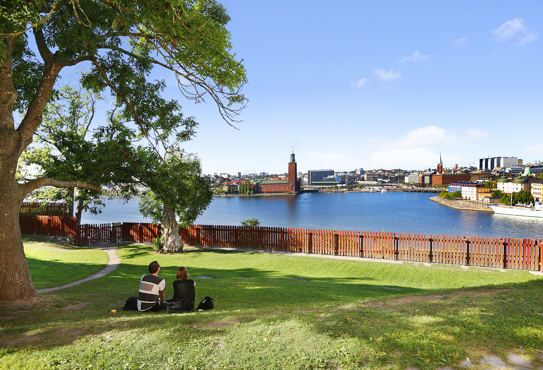 Bastugatan 19, 4 tr - Vacker utsikt från Ivar Lo:s park