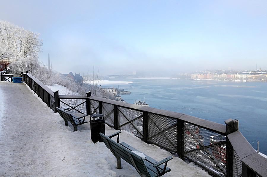 Bastugatan 19, 4 tr - En vinterdag på Monteliusvägen med utsikt över Riddarfjädern