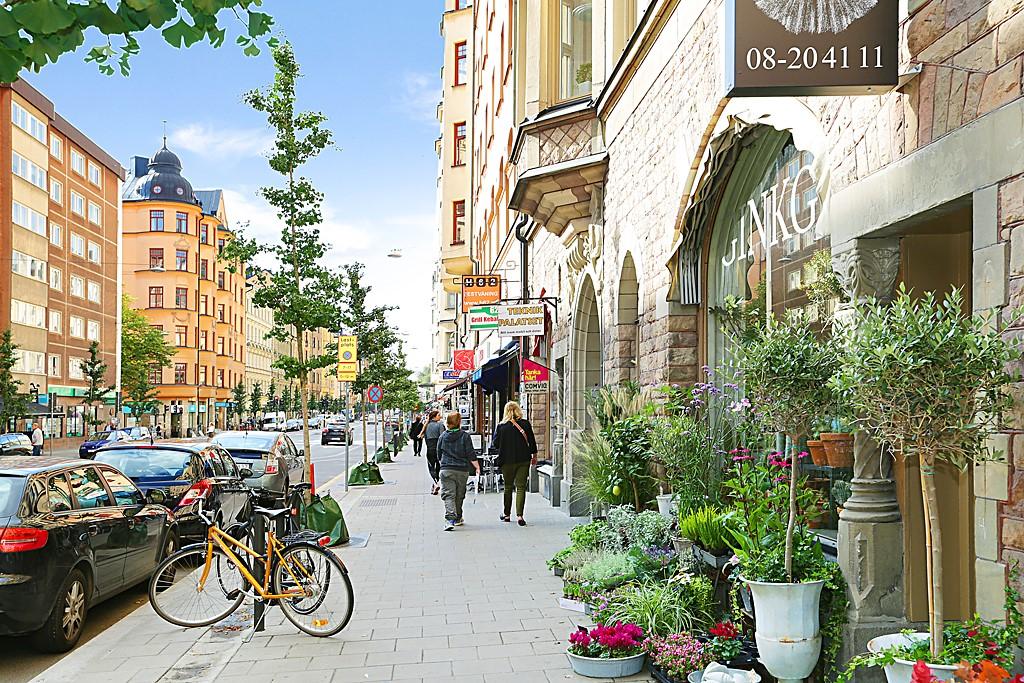 Bastugatan 19, 4 tr - Hornsgatan - Södermalms paradgata