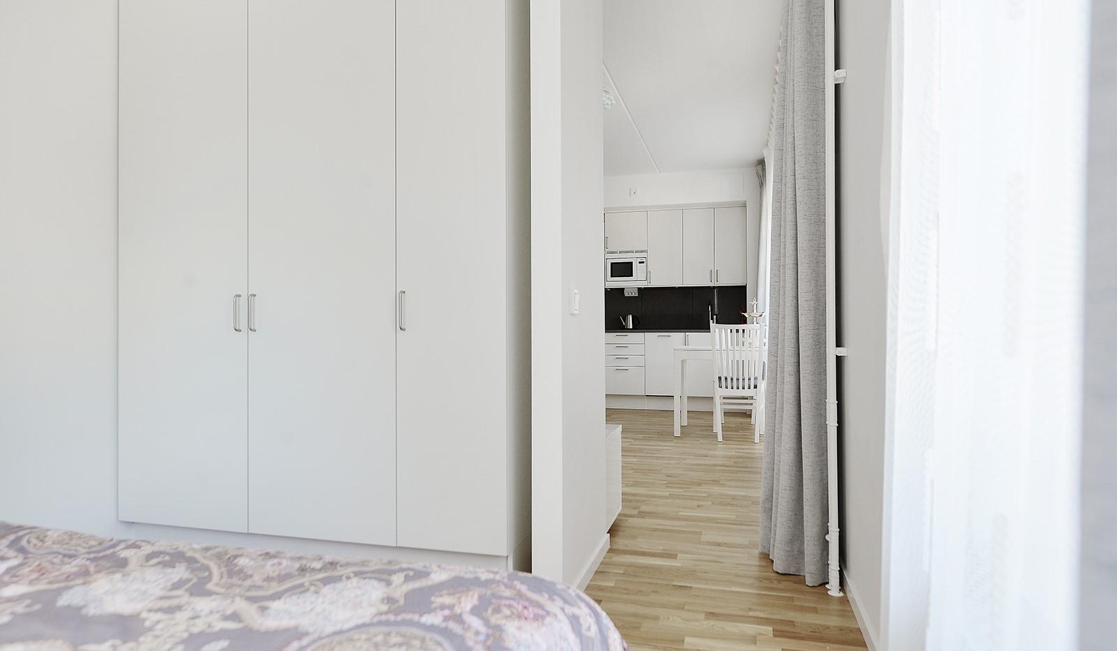 Lagmansbacken 7,1tr - Sovrum med garderober