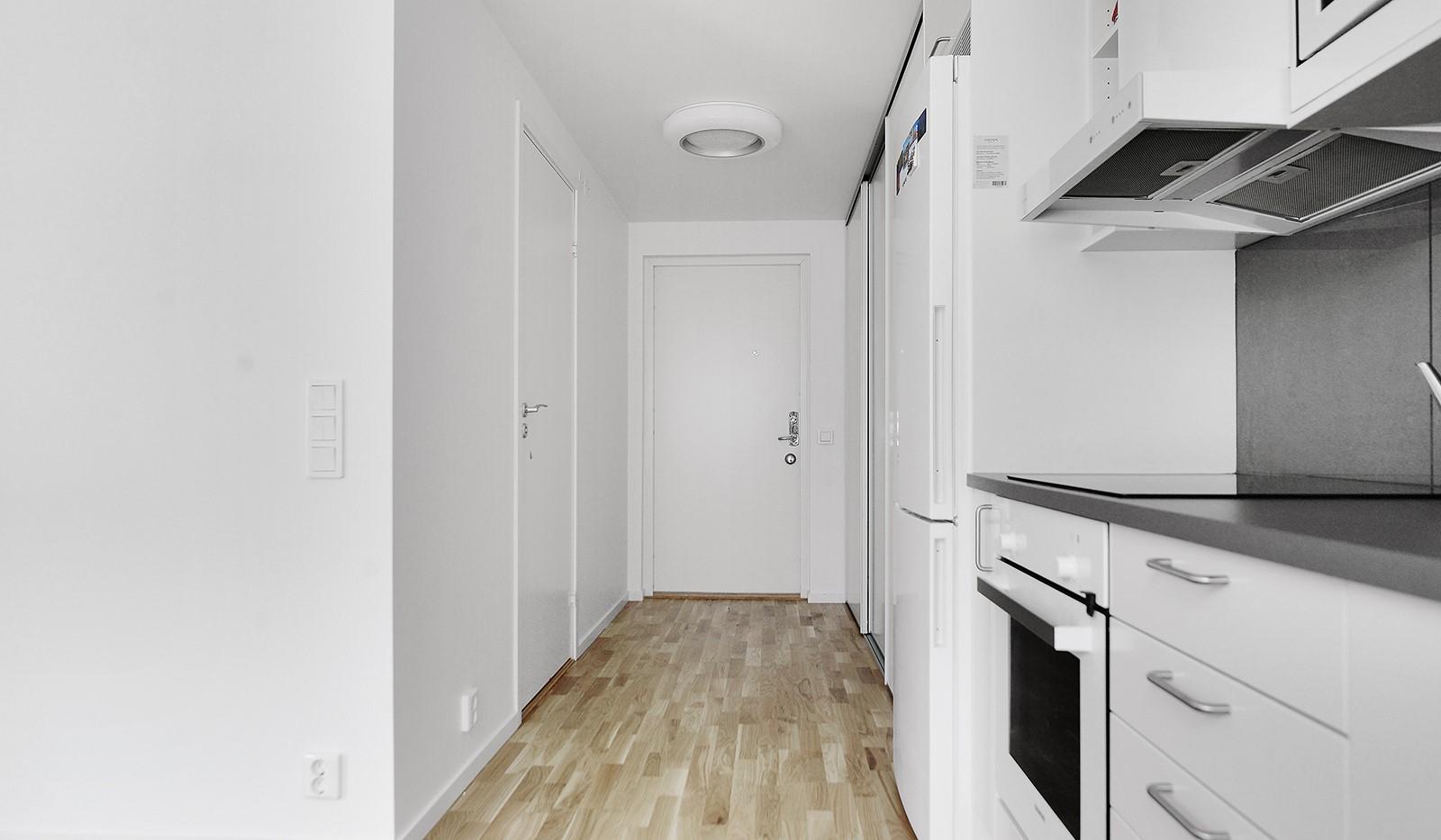 Lagmansbacken 7,1tr - Hall och kök