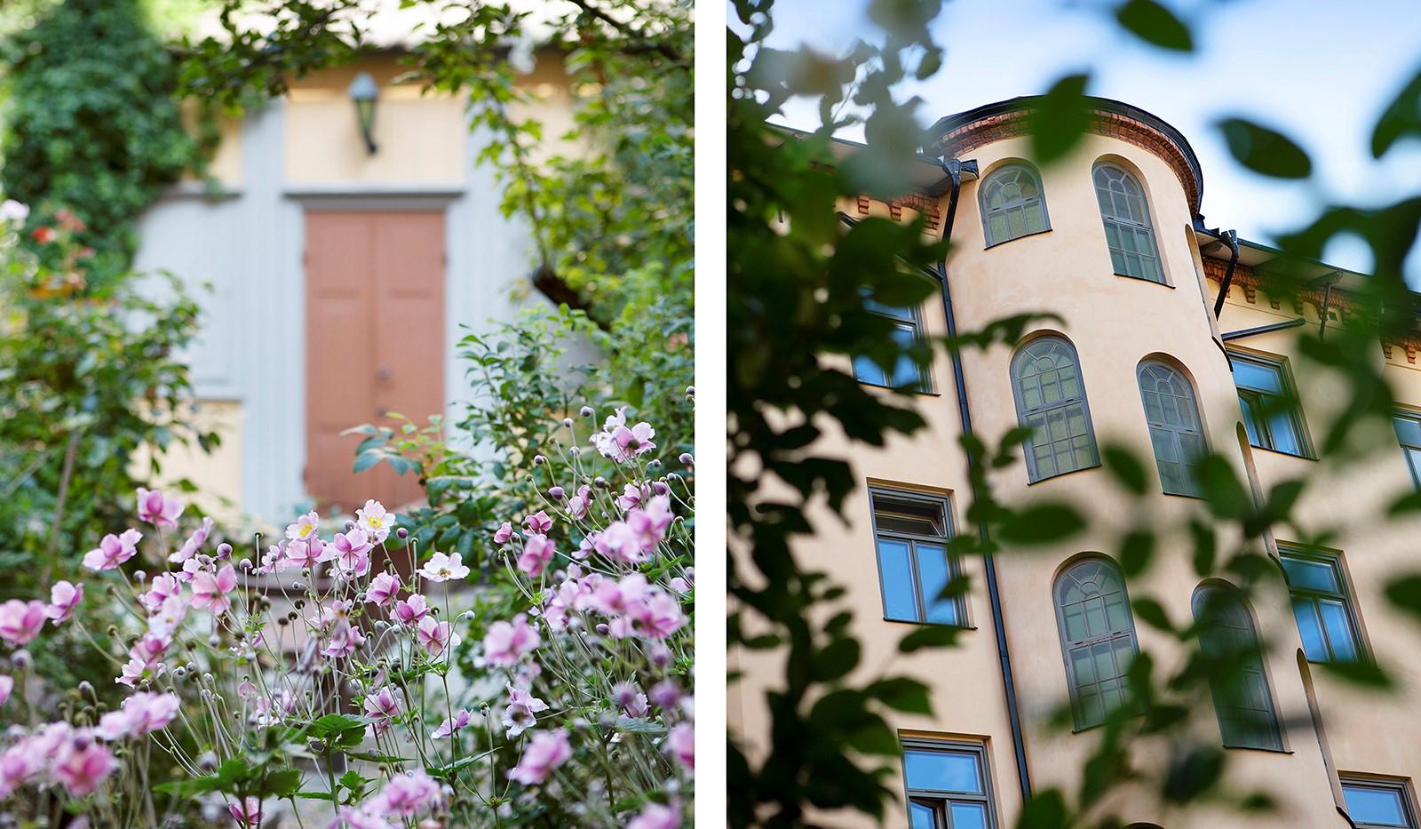 Krukmakargatan 6, 2 tr - Välkommen till en parkliknande grön oas och himmelsk innergård.