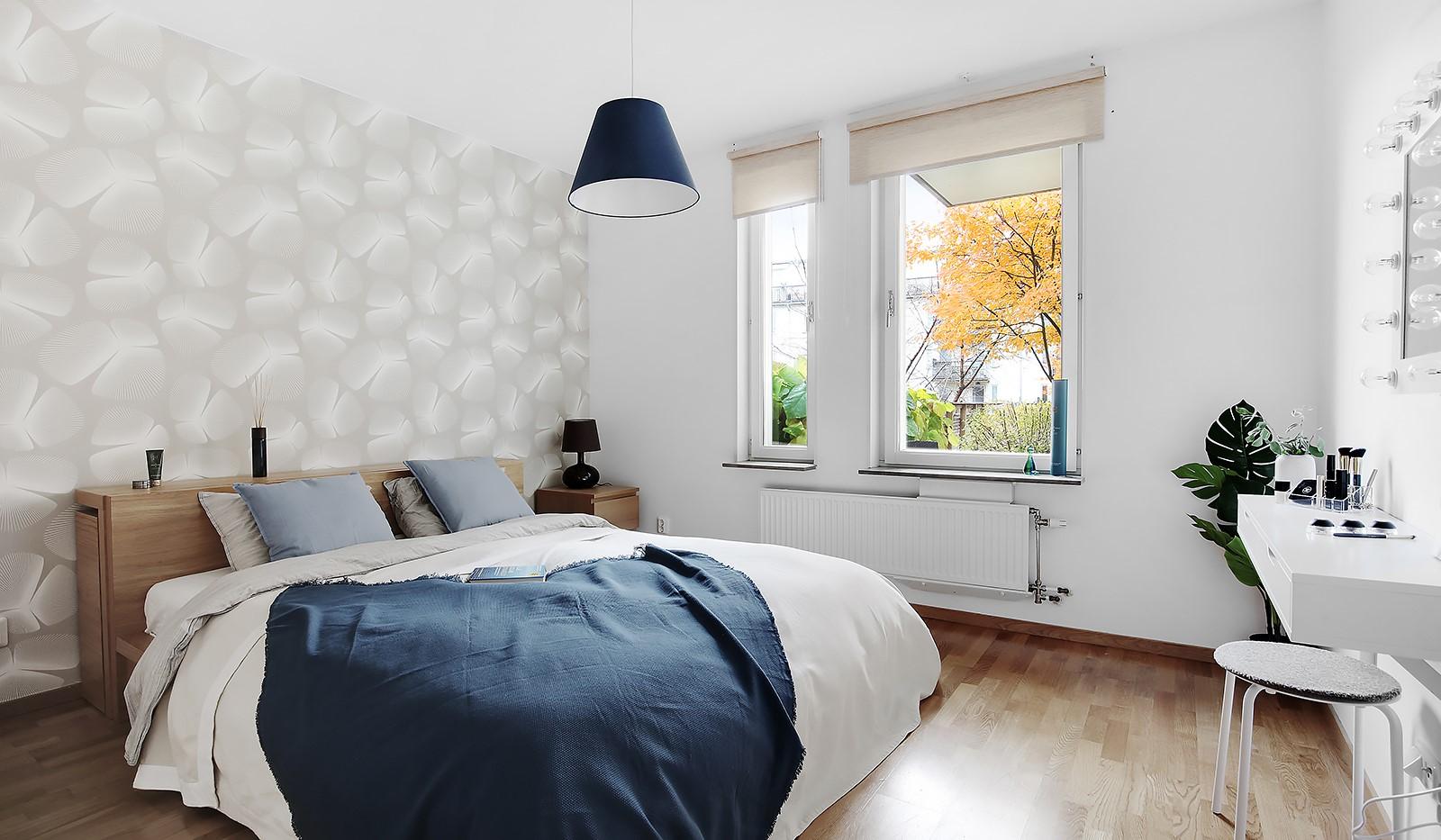 Korphoppsgatan 20 - Rofyllt sovrum mot lugn gård