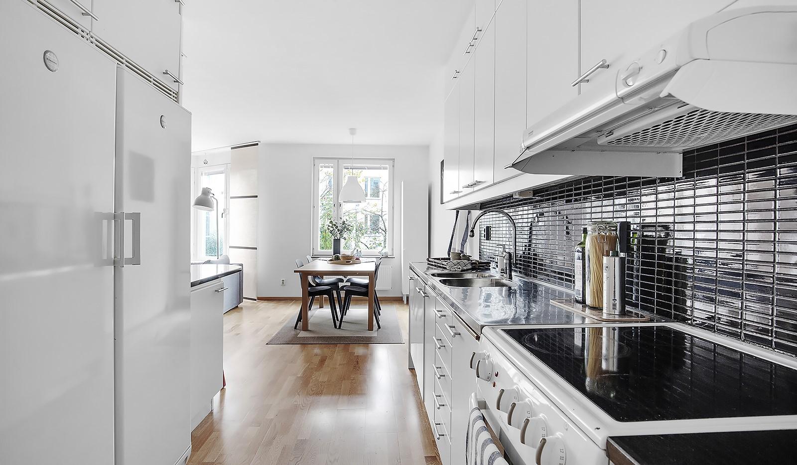 Korphoppsgatan 20 - Rum för en ordentlig matplats i anslutning till köket