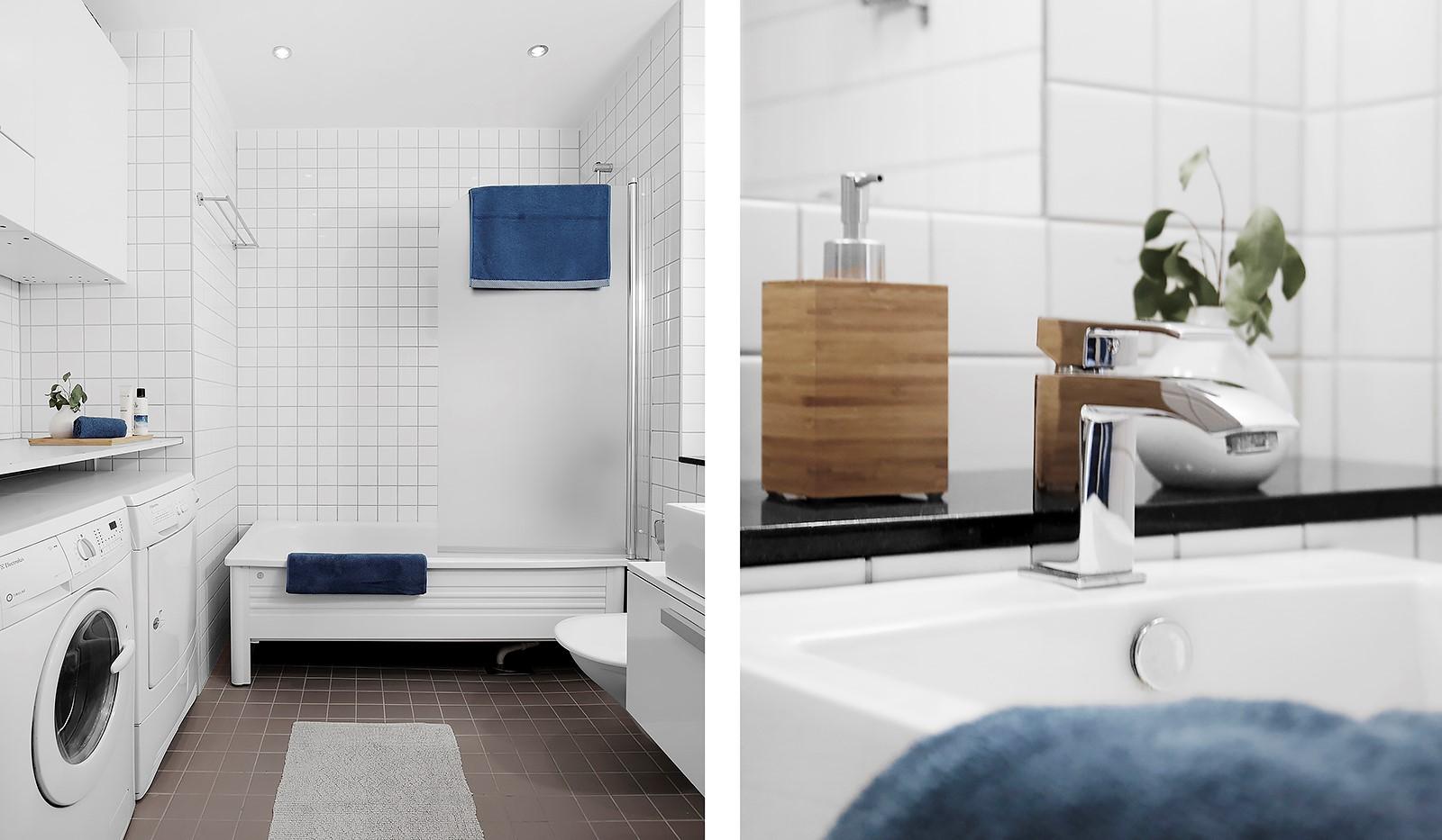 Korphoppsgatan 20 - Fräscht och rymligt badrum