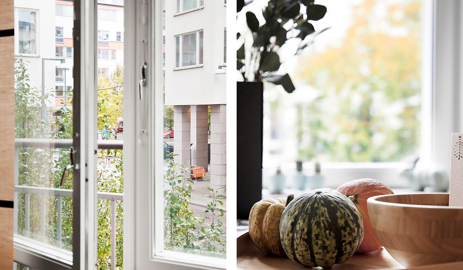 Korphoppsgatan 20 - Från vardagsrummet finns en fransk balkong