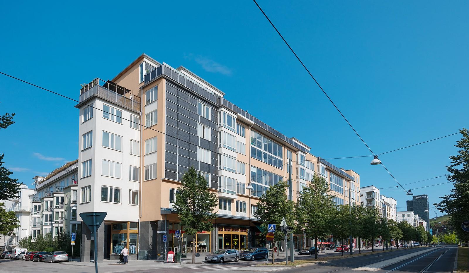 Korphoppsgatan 20 - Fasad