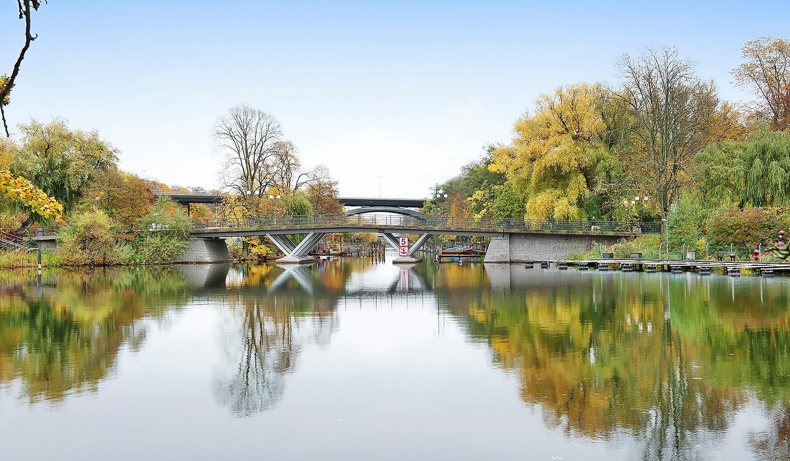 Högalidsgatan 50B - Bron mot Långholmen