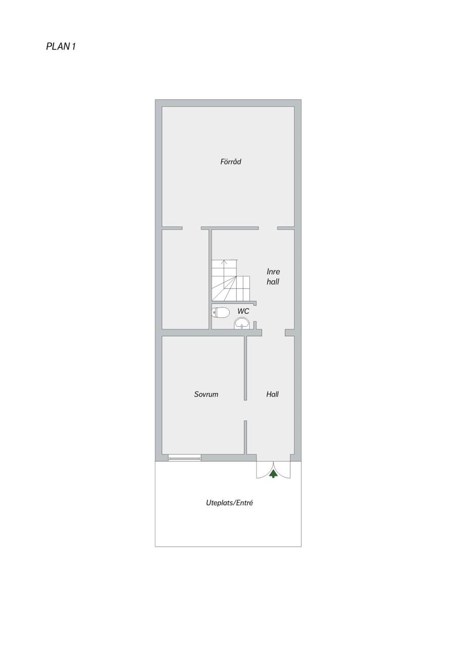 Taggsvampsvägen 127 - Våning 1