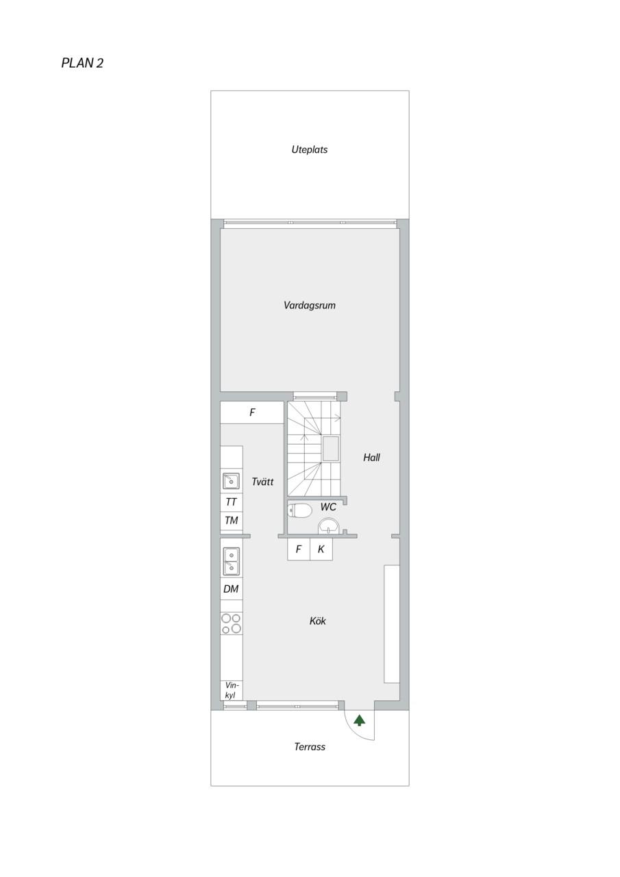 Taggsvampsvägen 127 - Våning 2