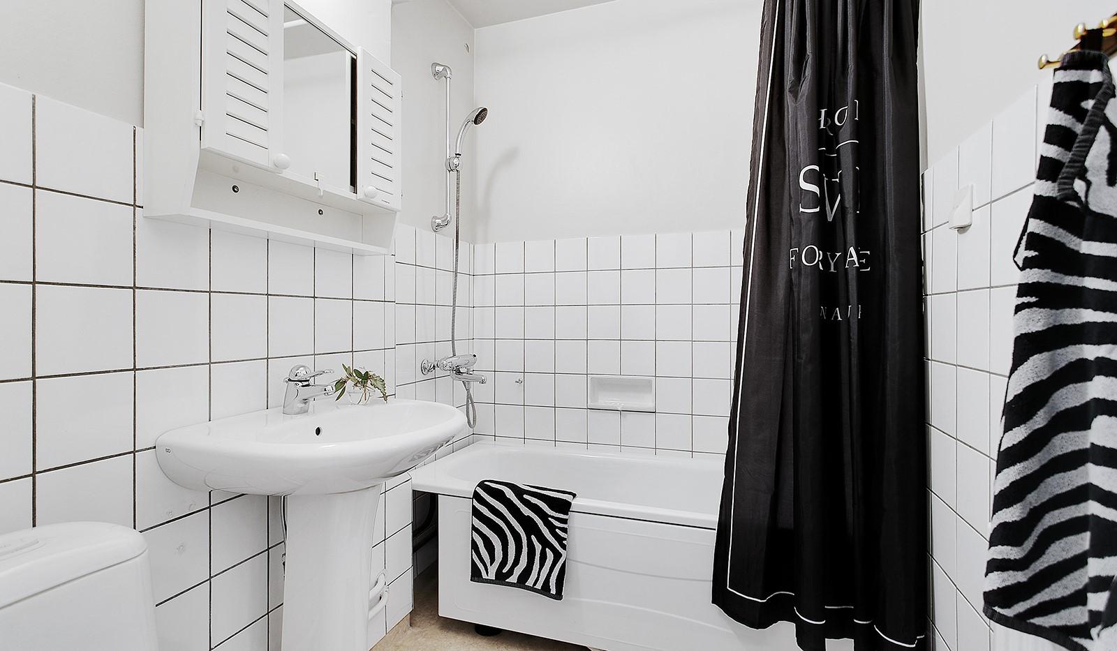 Bohusgatan 35, 5 tr - Badrum med badkar
